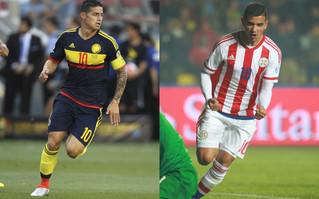 Colombia, por la clasificación ante Paraguay en el Rose Bowl