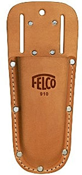 Felco leather holster with belt loop clip