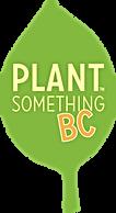 Plant Something BC Logo link