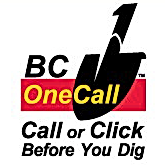 BC One Call or Click Before You Dig