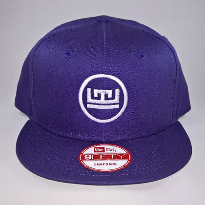 White on Purple