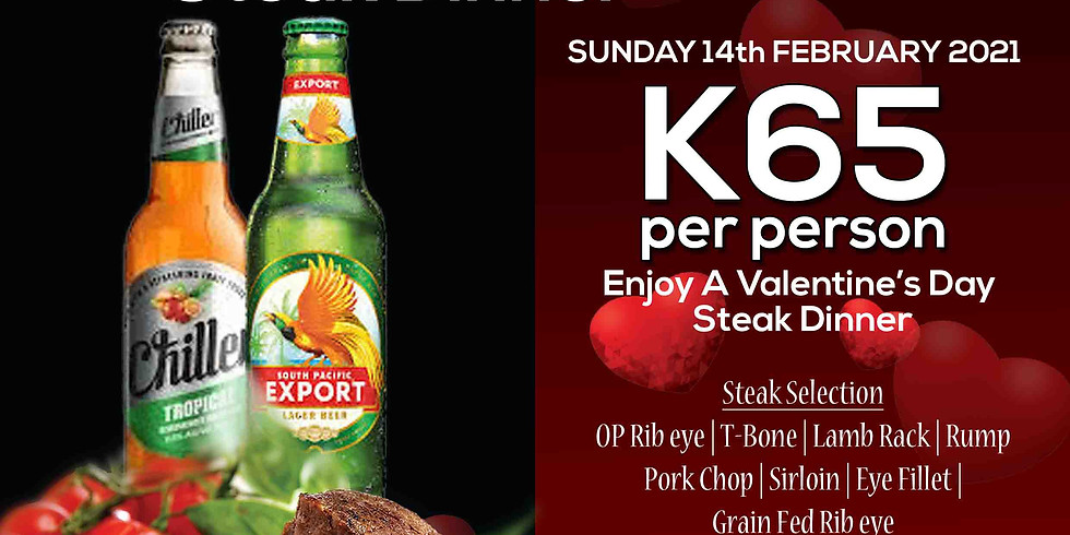 Valentines Day Dinner Special