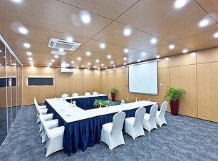 U shape setup at the Bismarck Conference Room