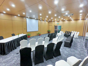 Theater style setup at the Bismarck Conference Room
