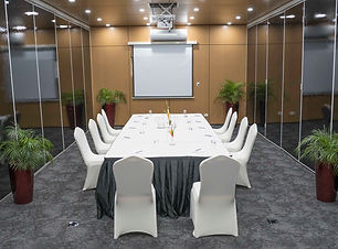 Conference Style setup at the Duke of York Conference Room