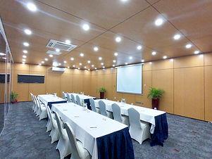 ClassRoom Setup at the Bismarck Conference Room