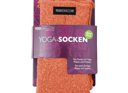 Chausettes de Yoga - orange