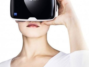 ZEISSのVR体験実施中です。