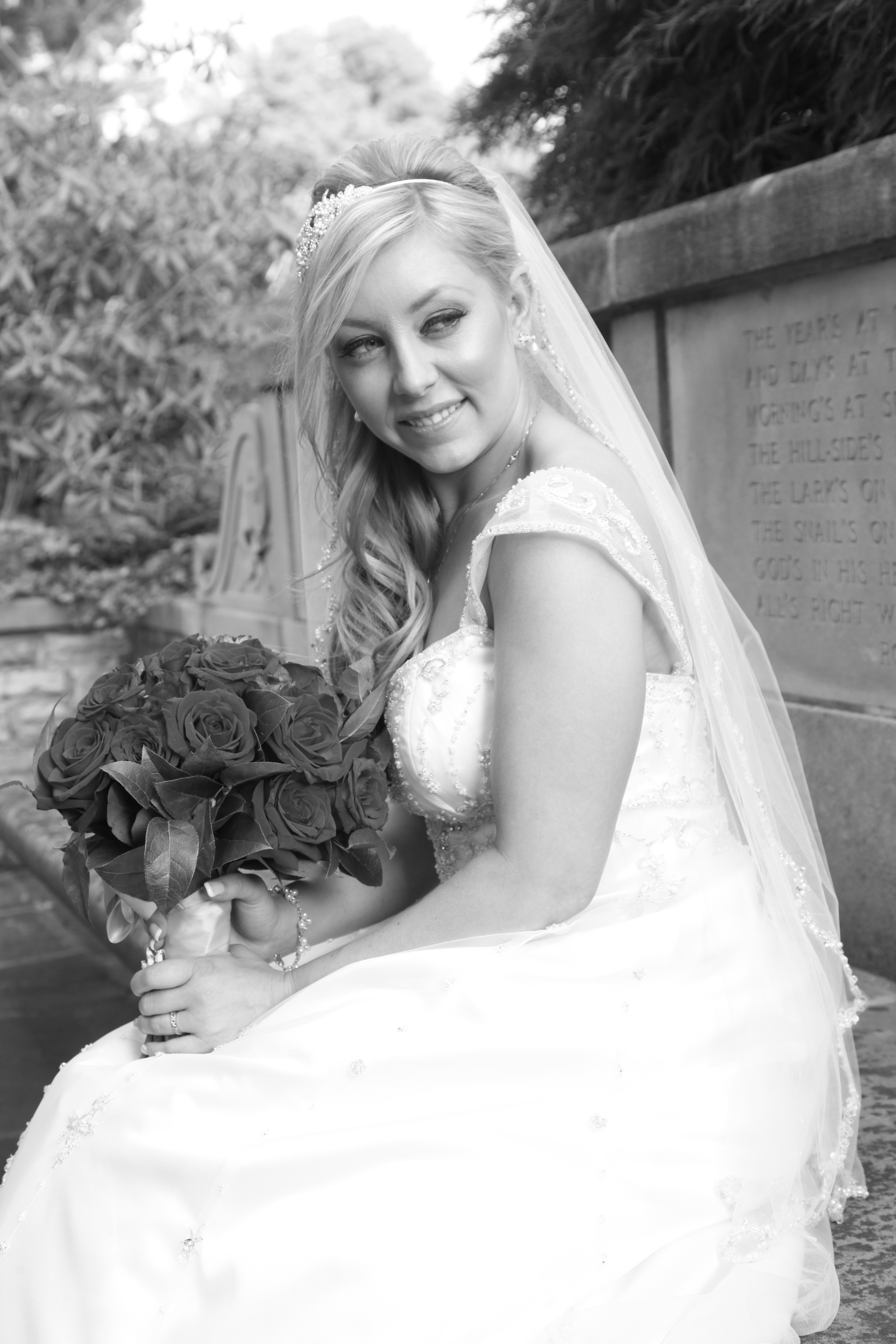 Bride_B&W