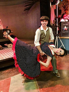 Swing Dancers for Performance