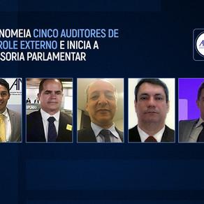 ANTC nomeia cinco auditores de controle externo e inicia a assessoria parlamentar