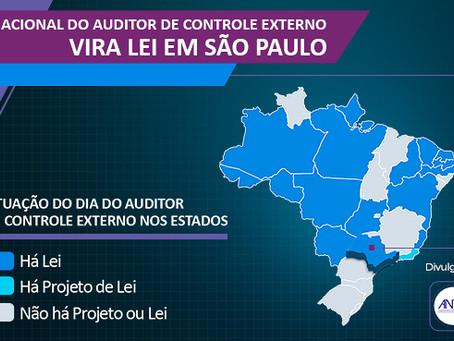 DIA NACIONAL DO AUDITOR DE CONTROLE EXTERNO VIRA LEI NA CIDADE DE SÃO PAULO