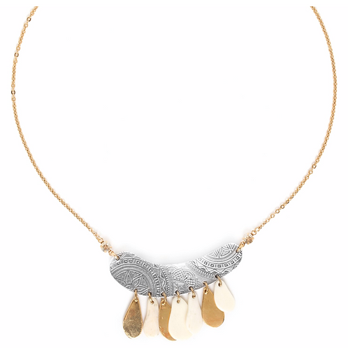 COLLIER MULTIPLE PAMPILES