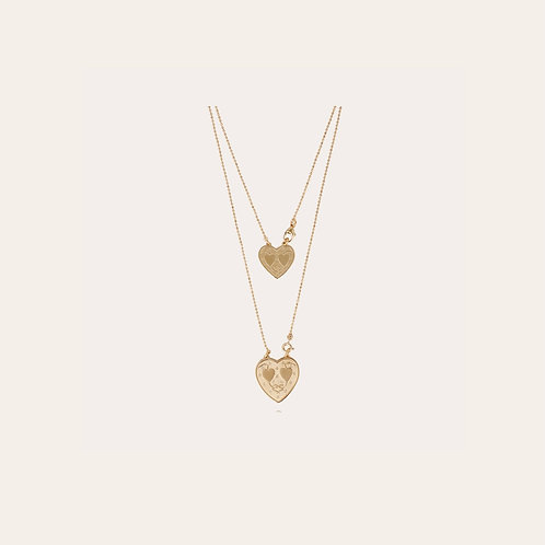 Collier Scapulaire Gilot or