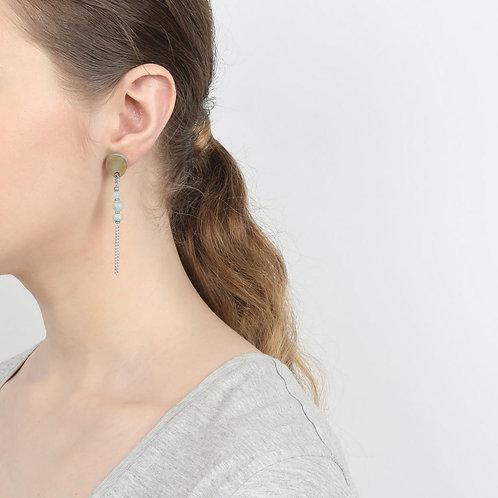 Boucles d'oreilles 1 chaine