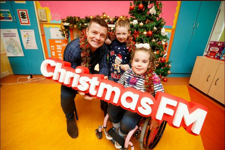 The launch of Christmas FM