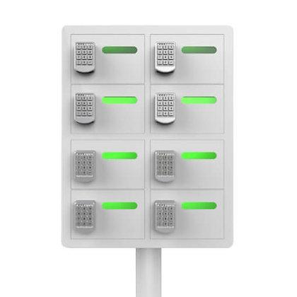 8 Bay Cell Phone Charging Locker