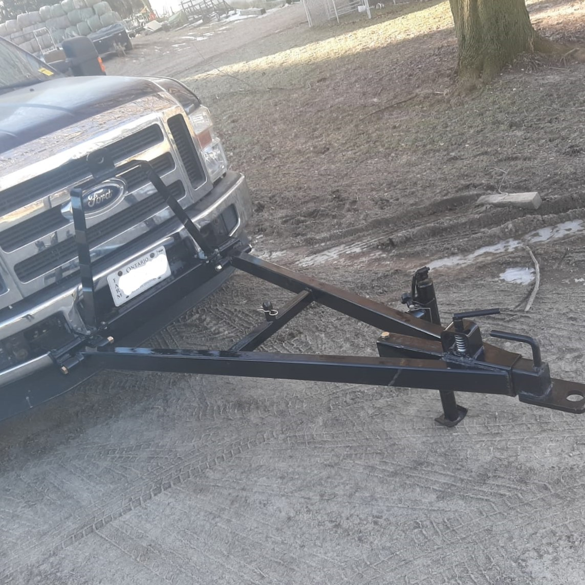 Custom Tow Bar for Pickup Truck
