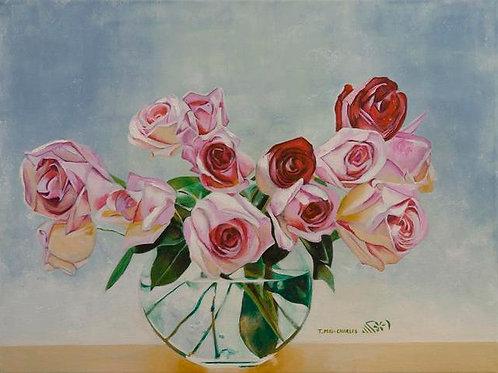 """""""Roses en vase"""""""