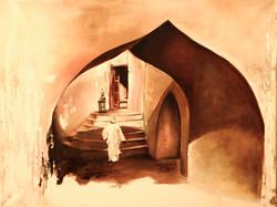 Forteresse en Oman-Fortress in Oma