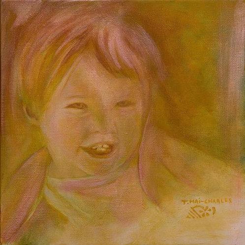 """""""Portrait d'enfant ocre"""""""