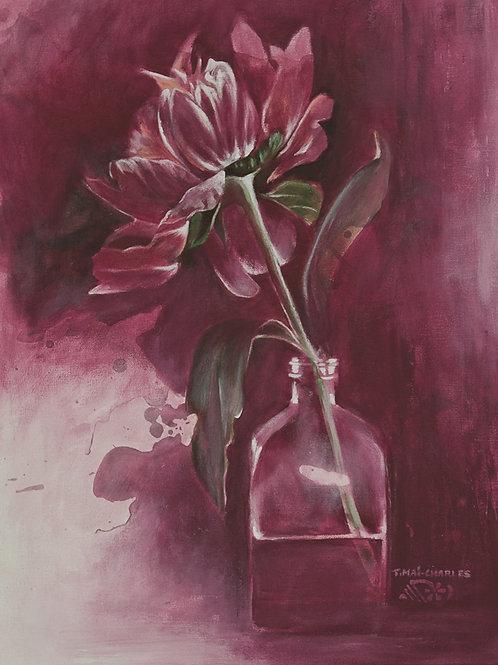 """Pivoine en vase"""