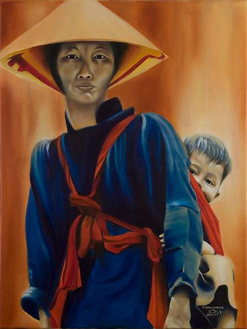 """""""Mère vietnamienne et son enfant"""""""