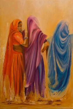 Three Indian ladies