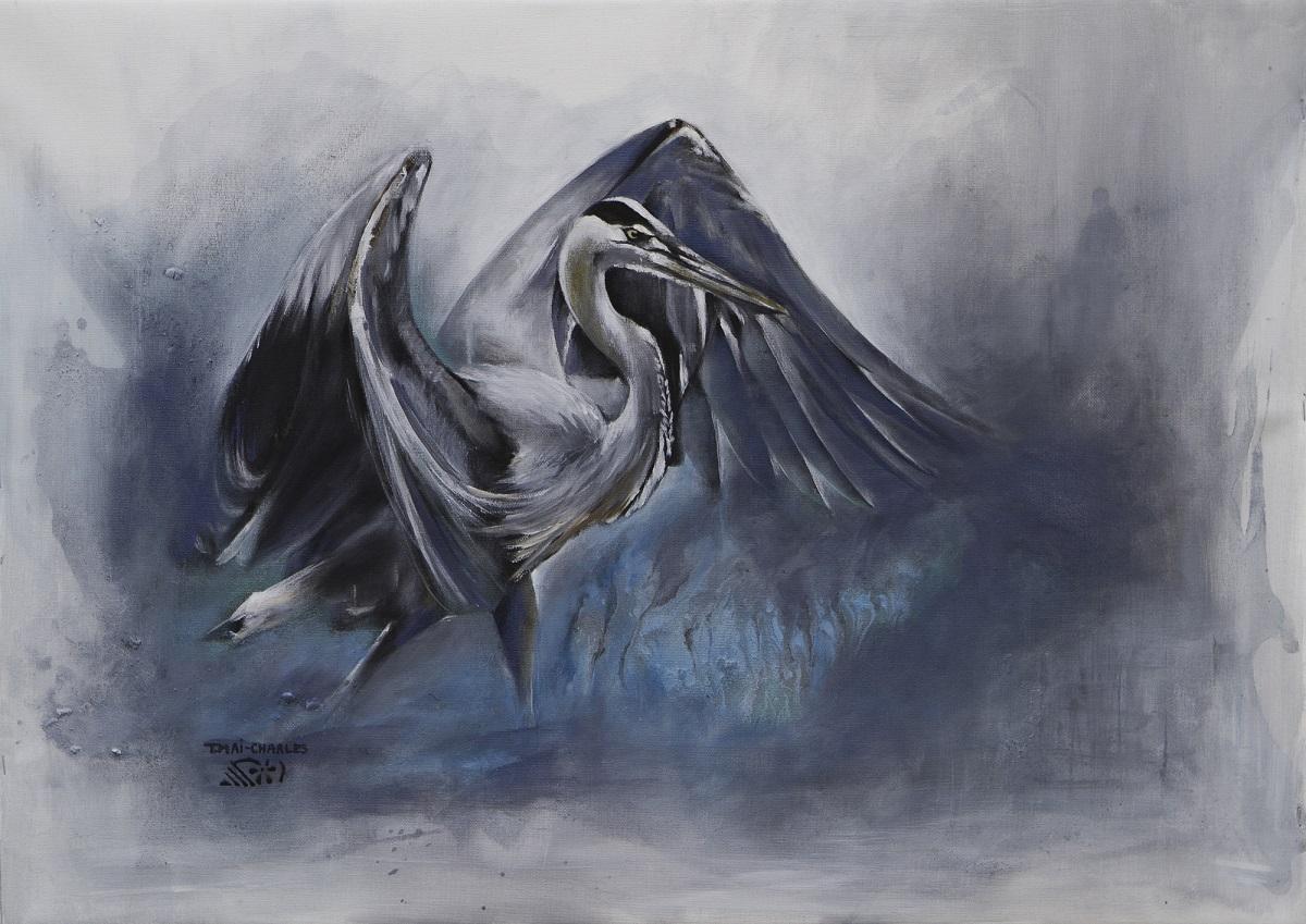 Heron Cendré