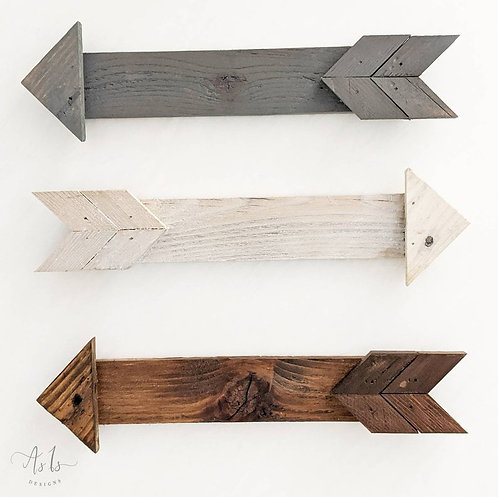 Wood Arrow Decor