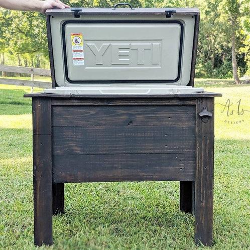 Wood Standing Cooler