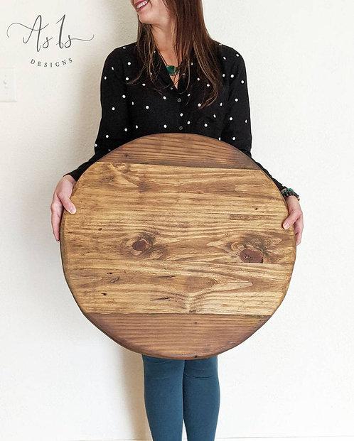 Round Ottoman Tray