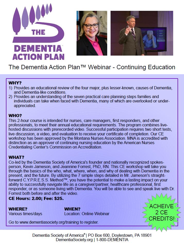 DSA TDAP CE Course Flyer - Revised 11-8-