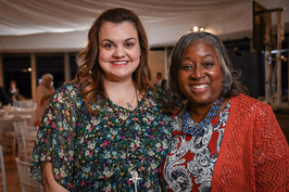 Abbi Johnson, Speaker  with Gail Duhon,