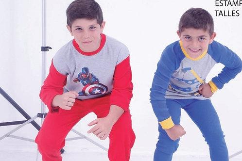 Pijama Estampado (Niño)