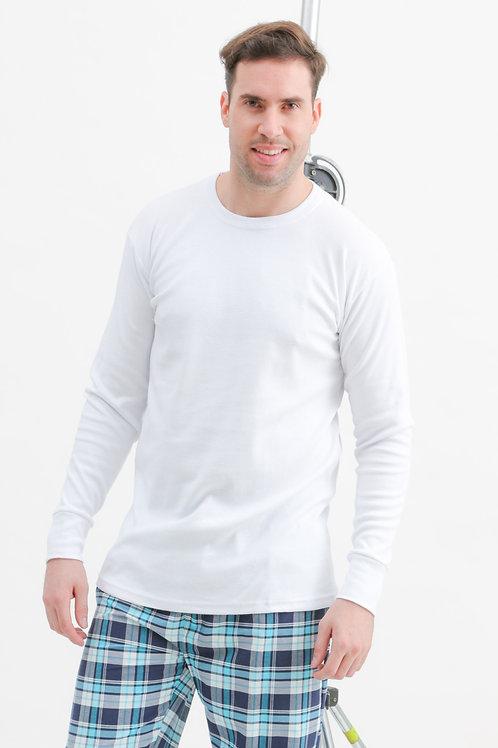 Camiseta Manga Larga Escote Redondo