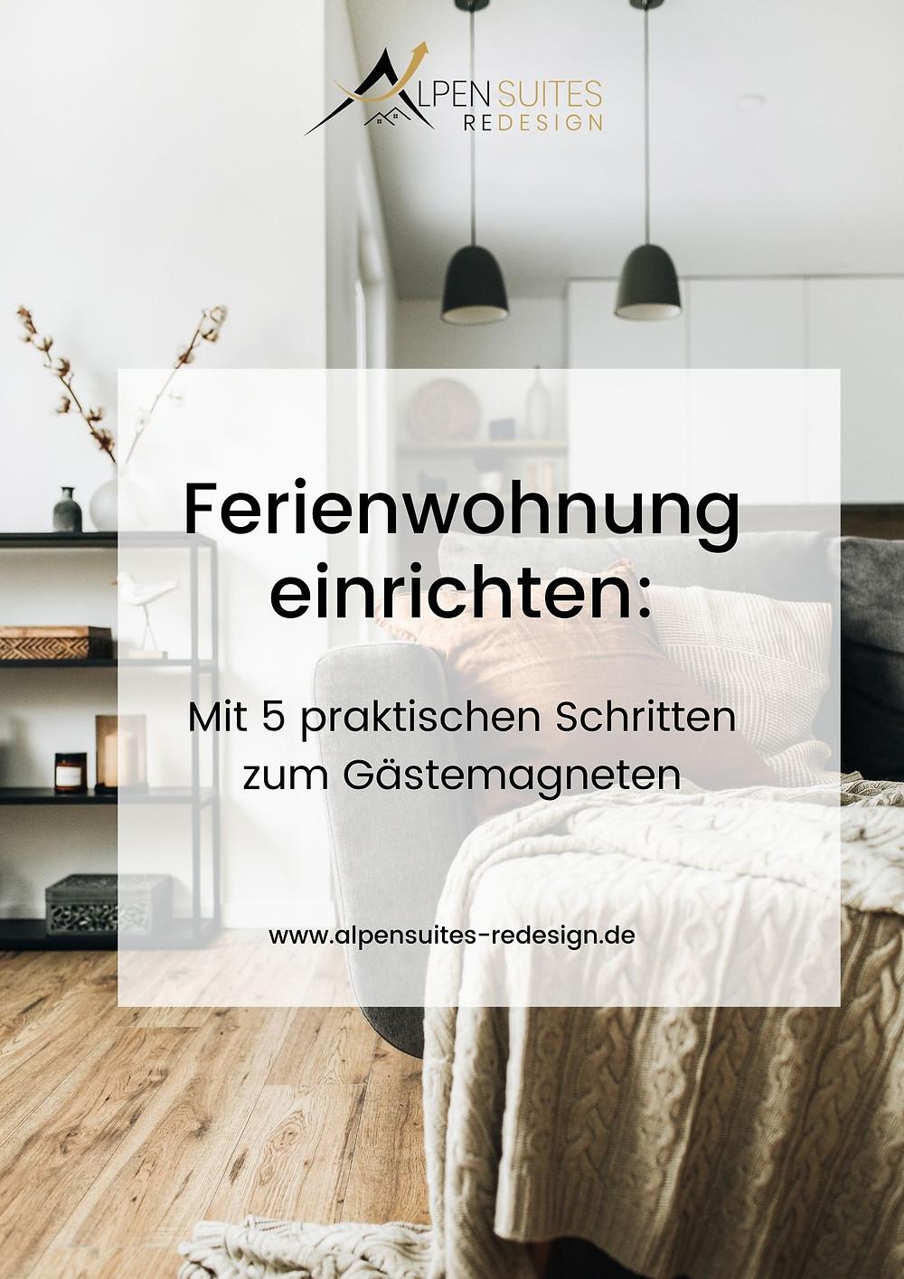 Coverpage - Gemütliches Wohnzimmer in Brauntönen mit naturnahen Materialien