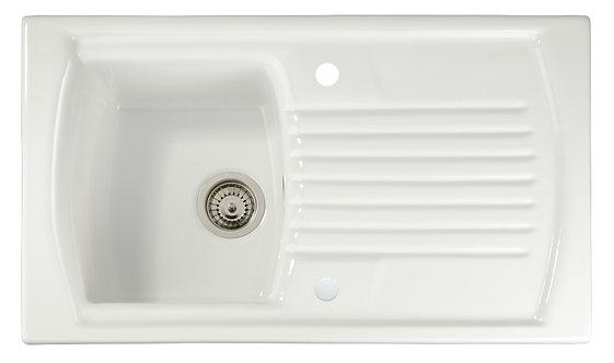 Speke 1.0 bowl ceramic sink & drainer