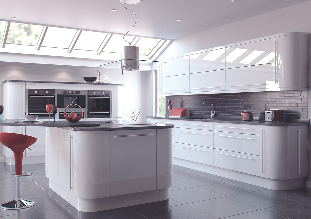 High Gloss Replacement Kitchen Doors