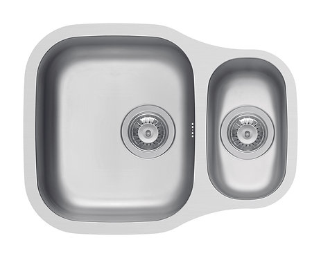 Quarry 1.5 bowl stainless steel undermount sink