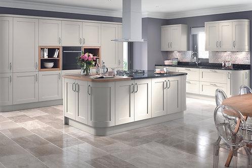 Light Grey Elegance PVC Replacement Kitchen Doors