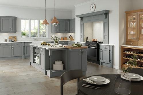 Dust Grey Wakefield Solid Wood Replacement Kitchen Doors