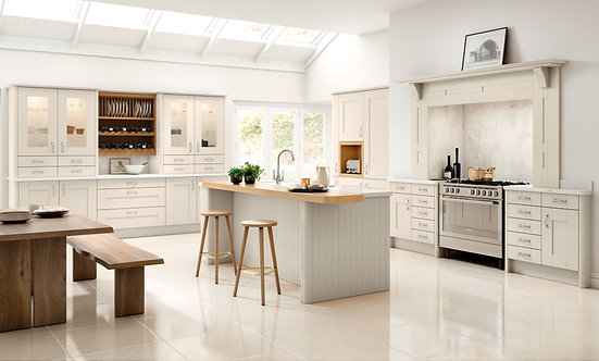 Luxury Shaker Cashmere Kitchen Doors