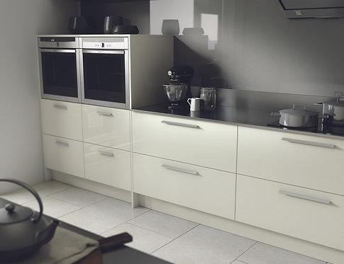 High Gloss Porcelain Kitchen Doors