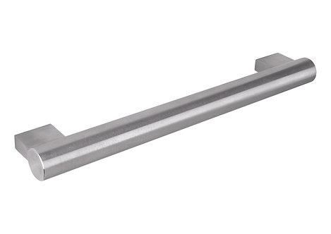 534mm Massiv block end handle, brushed steel