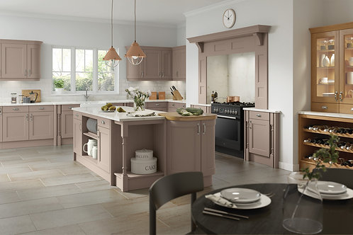 Stone Wakefield Solid Wood Replacement Kitchen Doors