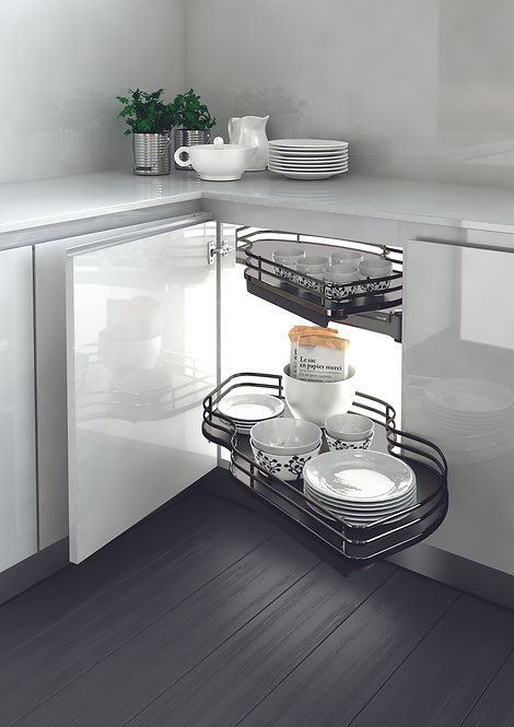 Elite Combi Pull Out Shelves (Anthracite)