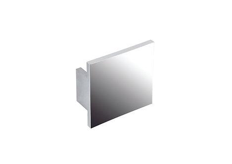 70mm Square handle, polished chrome