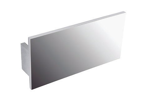 140mm Oblong handle, polished chrome