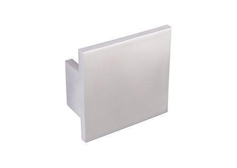 70mm Square handle, matt chrome